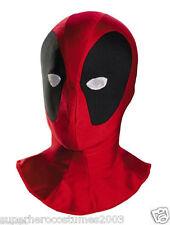 Deadpool Wade Wilson Adult Deluxe Mask Marvel Comics Brand New 32483