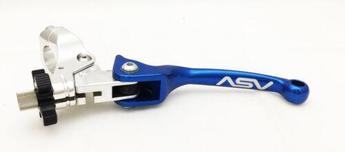 ASV F3 Clutch Lever w// Perch Suzuki LTR450 Blue