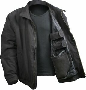 Black-Concealed-Carry-Padded-Military-Jacket