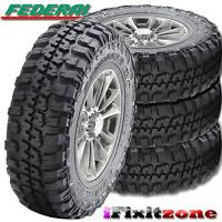 4 Federal Couragia M/t 35x12.50x15 Mud Tires Lt35x12.50r15 6 Ply 113q