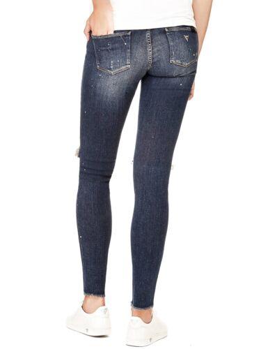 Vorn Neu Jeggings Risse 30 L Jeans Weight® Damen W Gr 31 Guess Feather W82aj1 wq4I8f