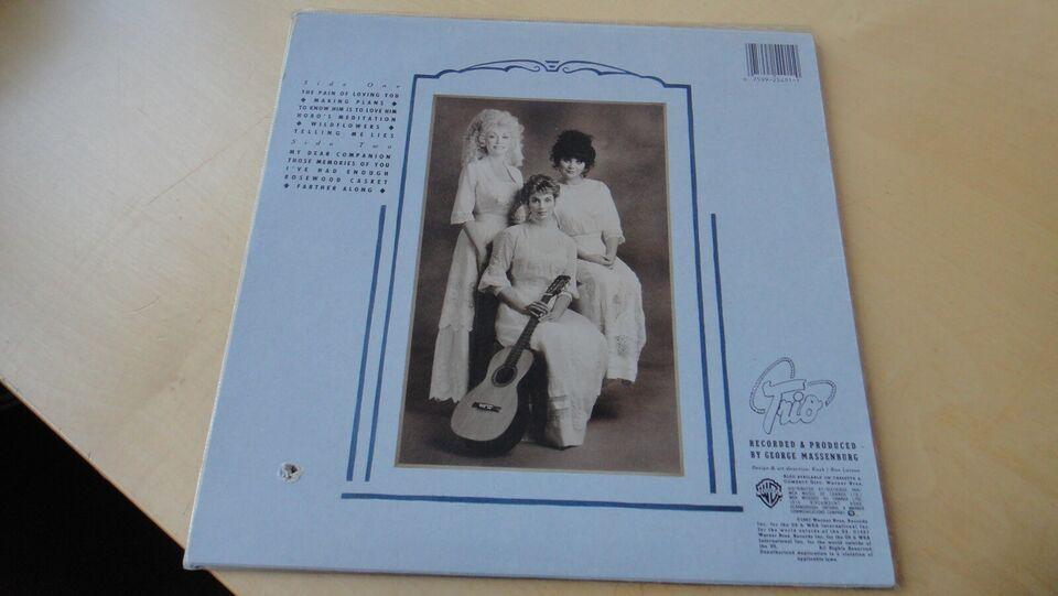 LP, Trio - Parton, Ronstadt og Harris