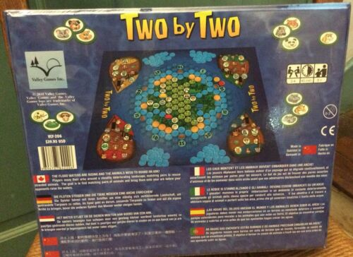 Two by Two Noah/'s Ark Board Game Bible Story 2-4 Players Valley Games CCD 8 NEW