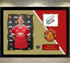 Zlatan Ibrahimovic signed autographed Football Memorabilia Framed 002