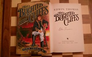 The-Blighted-Cliffs-AUTOGRAFATO-Edwin-Thomas-1st-Edition-1st-impressione