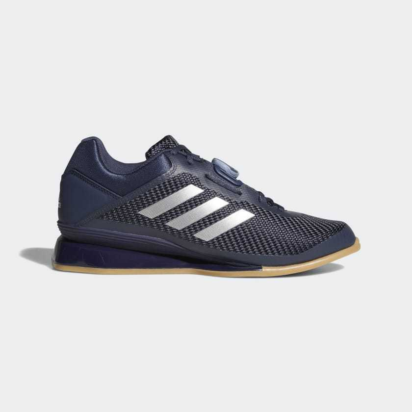 Adidas Leistung 16 2.0 Weightlifting shoes Mens bluee Squats Olympic Crossfit