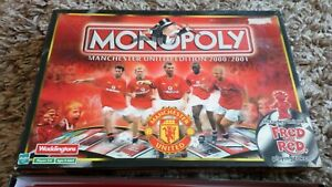 MONOPOLY-MANCHESTER-UNITED-EDITION-2000-2001-NICE-CONDITION-COMPLETE-FRED-RED