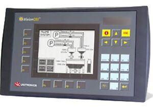 UNITRONICS V280-18-B20B PLC HMI NIB | eBay