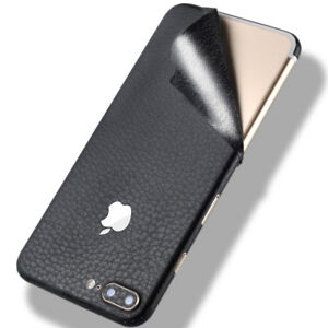 hot sale online 39738 d5f08 Details about For iphone X/7/7 Plus Luxury Slim Ultra-thin PU Leather Phone  Skin Wrap Stickers