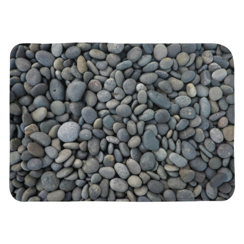 Pebbles Bath Mat gray bathroom grey decor pebble bath mats greys bath rug gray