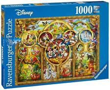 Ravensburger 15266 High Quality The Best Disney Themes 1000 Pieces Jigsaw Puzzle