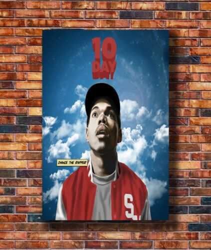 T2603 20x30 24x36 Silk Poster Chance The Rapper 10 Day Rap Art Print
