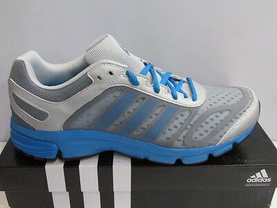Tamaño de Reino Unido 6-Adidas Exerta 2 M Correr Gimnasio Fitness Zapatillas-Gris/Azul