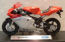 """1:18 MV AGUSTA F4S F4 750 IN RED SILVER """"OF CORSE"""" SUPERB MODEL! SUPERB DETAIL"""