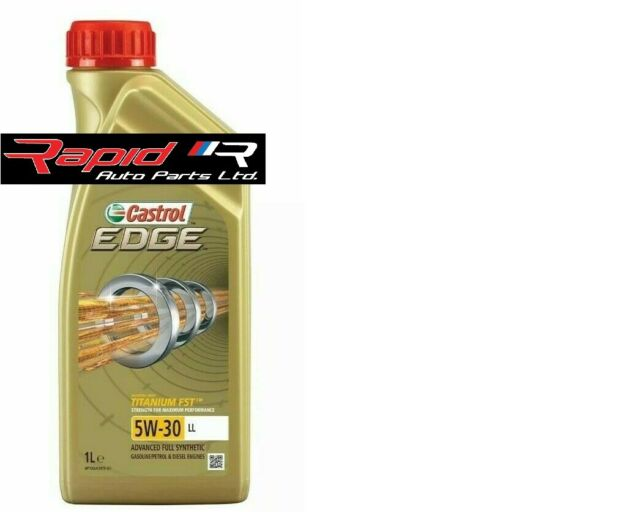 Castrol EDGE Titanium 5W-30 LL Full Synthetic Engine Oil 1 Litres 1L