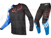Fox Racing 180 Youth Sabbath Se Pant & Jersey Combo Blue Red Mx/atv Boy's Kid's