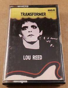 Lou Reed : Transformer : Vintage Tape Cassette Album from 1981