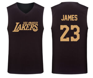 classic fit f4fdb c7ea1 LEBRON JAMES 23 - KID YOUTH BASKETBALL TANK TOP JERSEY VEST ...