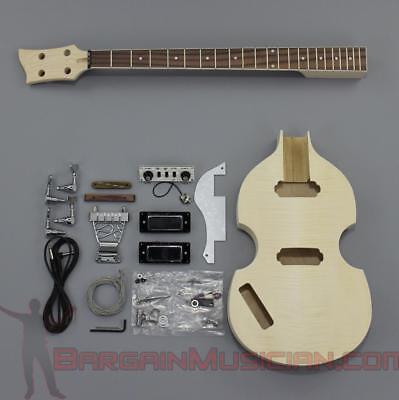 Bargain Musician Bk 006l Left Diy Unfinished Project Luthier Bass Guitar Kit Ebay