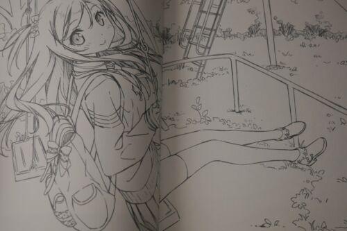 "JAPAN Kantoku Rough /& Line Art #1 /""Lilac/"""
