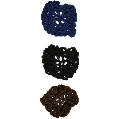 Crocheted Ribbon Hair Bun Net