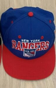 Casquette Snapback Mitchell And Ness Vintage Usa New York rangers NBA basketball