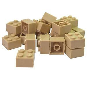 20-NEW-LEGO-Brick-2-x-2-Tan