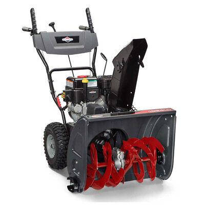 "Briggs & Stratton 24"" 208cc 9.5 TP Dual Stage Gas Powered Snow Blower"