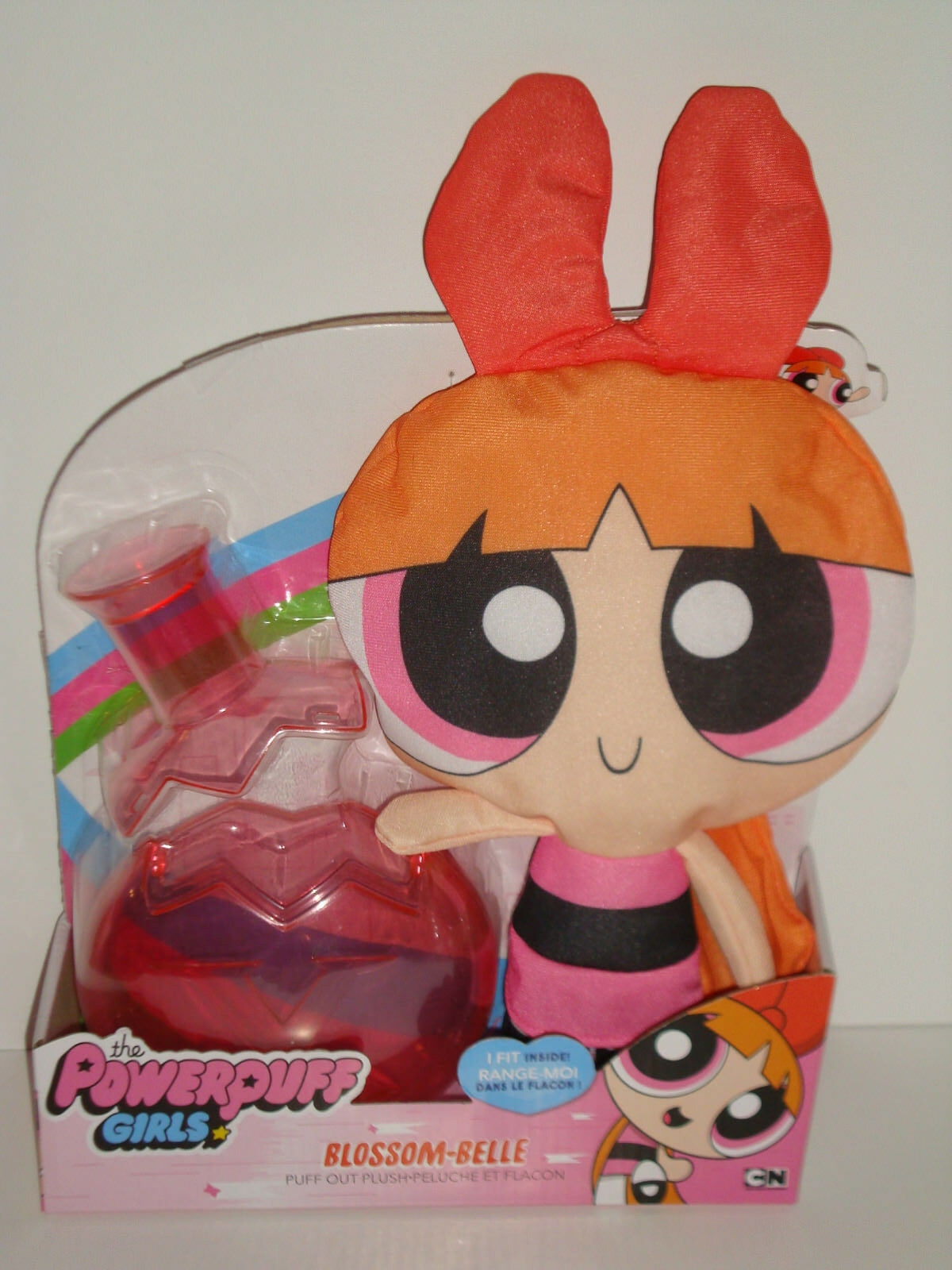 THE POWERPUFF POWERPUFF POWERPUFF GIRLS - BLOSSOM-BELLE PUFF OUT PLUSH db3036
