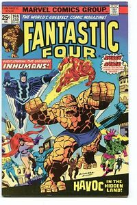 Fantastic-Four-159-Fine-VF-1961-Marvel-Comics-CBX35