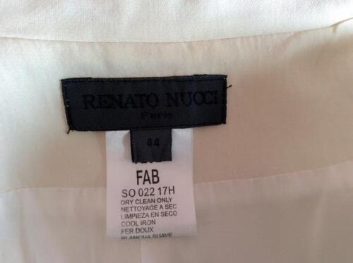 Renato Taglia 44 Silk Tie Jacket Nucci Front Uk 12 Ivory px4wqvrp