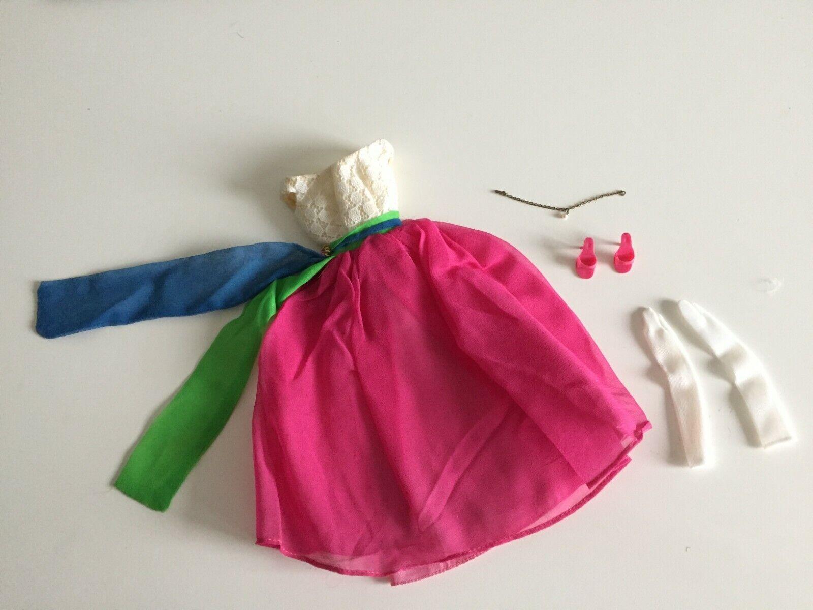 Vintage  orig Barbie Fraternity Dance complete with drop pearl etc