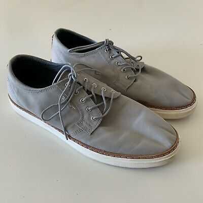 Canvas Shoes Sneaker Gray Lace