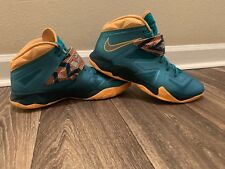 release date: ce73e 25a1d item 5 Nike Lebron James Zoom Soldier VII Turbo Green Atomic Mango Size 11 -Nike  Lebron James Zoom Soldier VII Turbo Green Atomic Mango Size 11