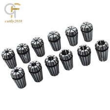 12pc Er16 132 38 Spring Collet For Cnc Milling Lathe Tool Engraving Machine
