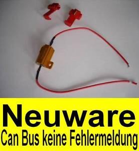 widerstand 21 watt can bus error fehlermeldung f r led. Black Bedroom Furniture Sets. Home Design Ideas