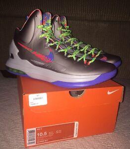 82acc91b3e91 DS 2012 Nike KD V 5 Energy Sz 10.5 Grey Splatter Nerf 554988-007 ...
