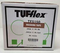 Tufflex 36 Rolls 1 X 60 Yards General Purpose Masking Tape Case Of 36