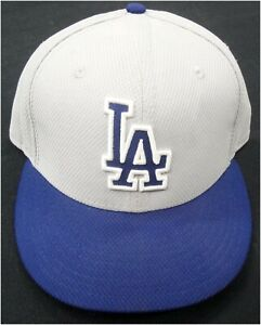 Los-Angeles-Dodgers-44-Game-Used-Team-issue-Baseball-Cap-Hat-Size-7-5-8