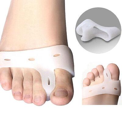 2pcs Toe Separators Stretchers hallux valgus Alignment Bunion Foot Pain Relief