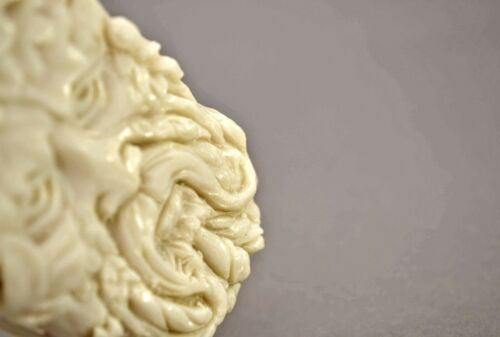 GREEN MAN SOAP SILICONE MOULD RESIN PLASTER CLAY WAX MOLD 5,5OZ CELTIC FORREST