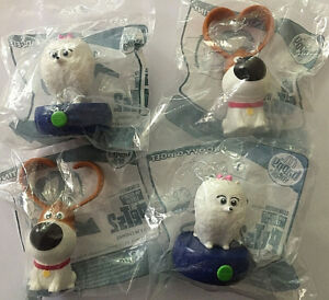 MCDONALDS-HAPPY-MEAL-TOYS-2019-THE-SECRET-LIFE-OF-PETS-2-FOUR-TOYS-NEW-amp-SEALED