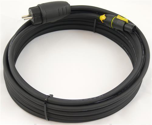 11,33€//m Powercon TRUE1 Power In Schuko Netzkabel H07RN-F 3G1,5 3x1,5 mm² 1,5m