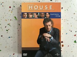 HOUSE-MD-SEGUNDA-TEMPORADA-COMPLETA-EDICION-6-DVD-CASTELLANO-ENGLISH-AM