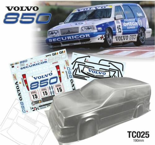 ###########1//10 BTCC Volvo Estate 190MM CAR SHELL###########