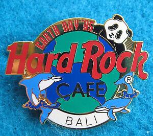 Bali-Terre-Jour-1995-Globe-Planete-Panda-Geant-Dauphin-amp-Whale-Hard-Rock-Cafe