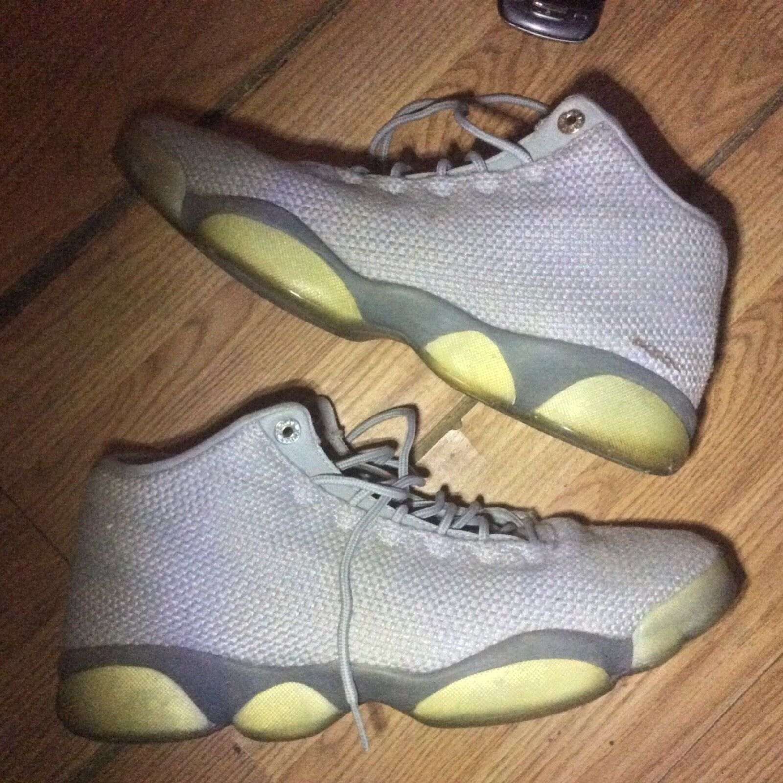 Air Jordan 13 Retro Low Size 310810-100 10 Mens Pure Money 310810-100 Size White Platinum Shoes 840382