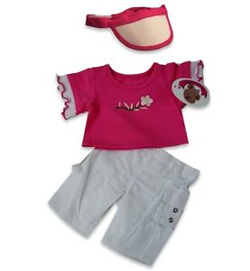 Teddy Bear Clothes fit Build a Bears Teddies Candy Flower T- shirt Outfit