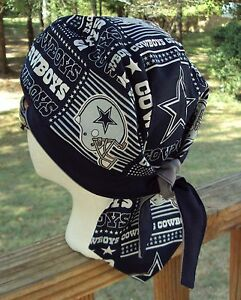 Dallas Cowboys Football Du Rag Skull Cap Bandana Biker