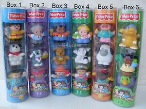 little people personaggi characters personnages figures figurines fisher price